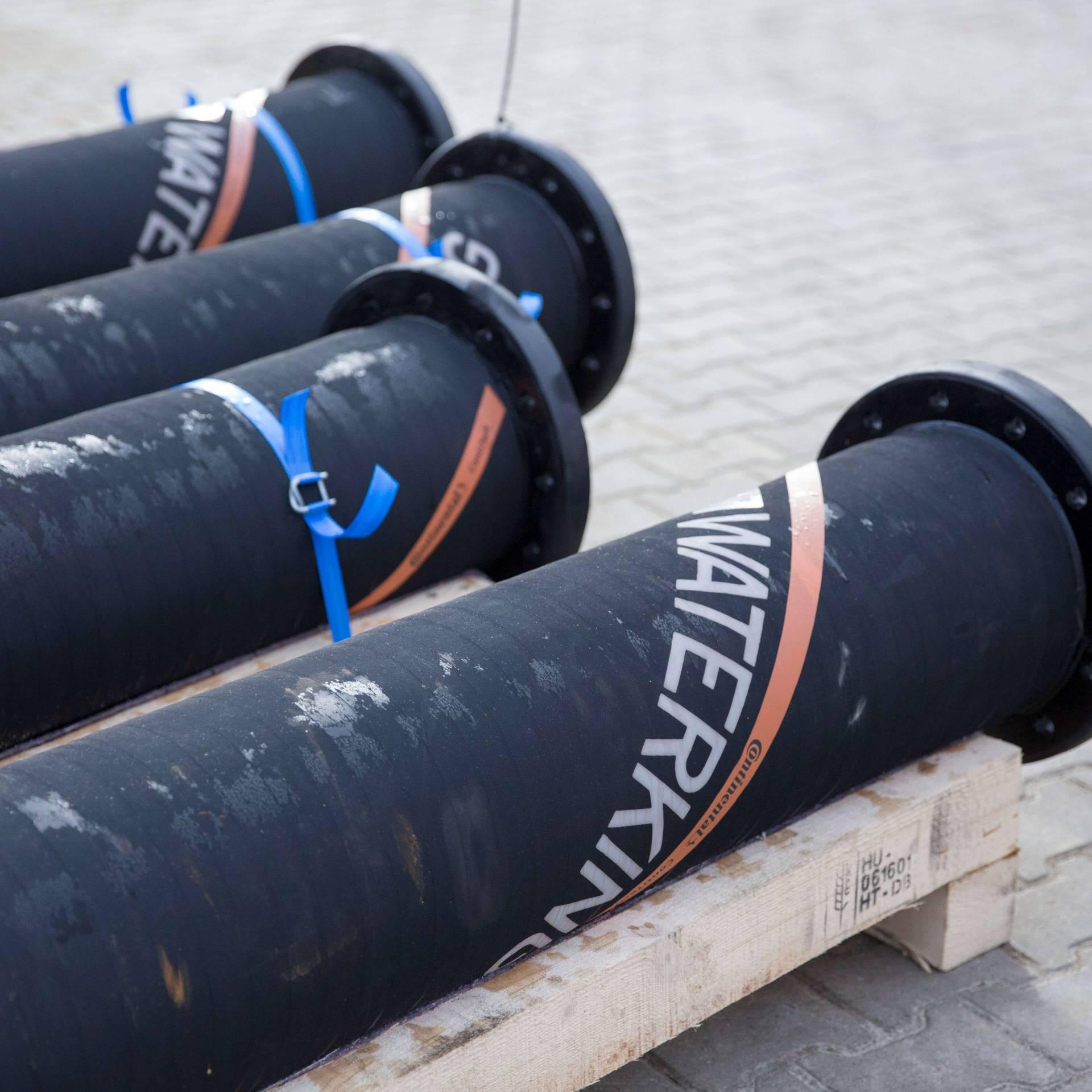flexible leiding, baggerslang