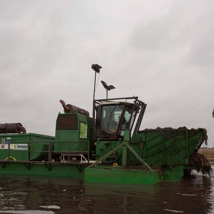 Shredder dredger